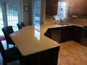 new marble or granite counter tops in Pickerington, Ohio